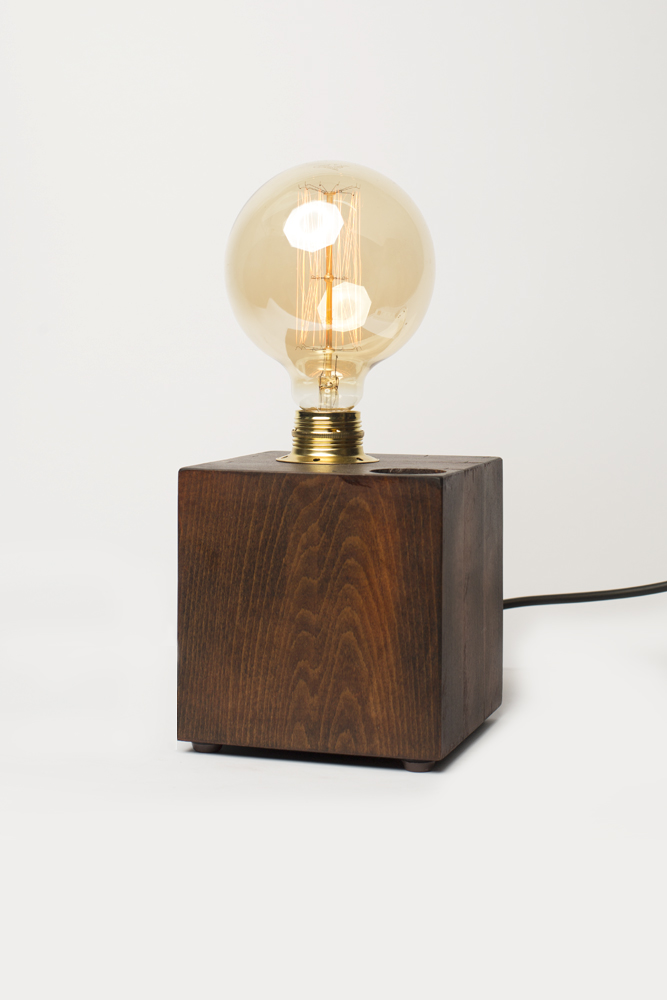 Wall Lamps Wooden : Wood box - Pipe Brothers