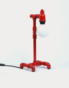 Pipe Brothers 4 legs red