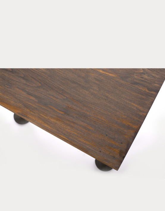 Pipe Brothers wood table